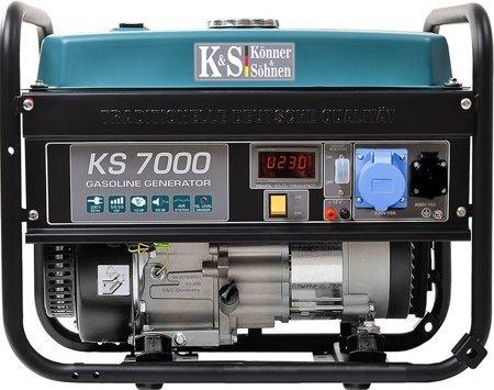 Agregat prądotwórczy KONNER & SOHNEN KS 7000 + Olej + Zestaw Transportowy