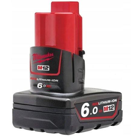 Akumulator MILWAUKEE M12 B6 6.0Ah 12V